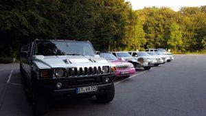Limousine mieten in Münster Dortmund Steinfurt